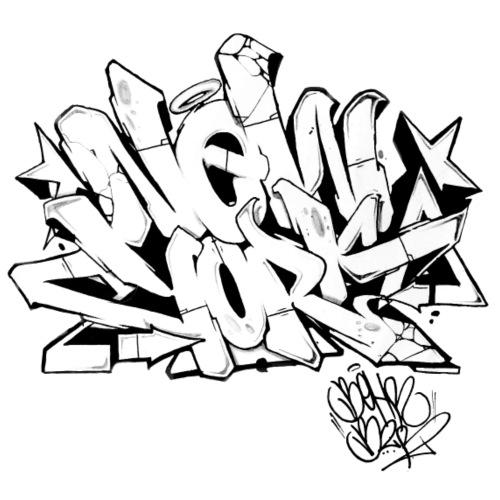 New york graffiti tshirts and graffiti clothing shirt shop for I love new york coloring page