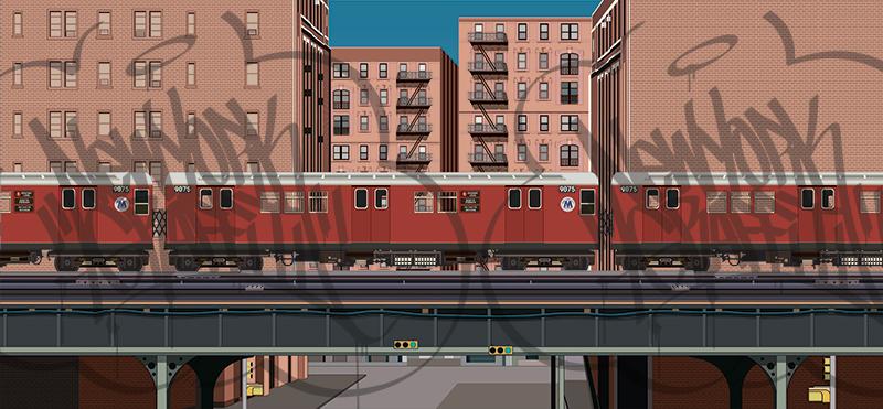 El-Overpass-Scene-Redbird