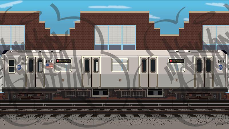 MTA-Yard-Scene-R160