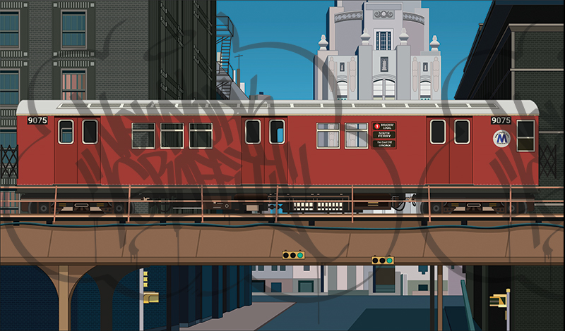 DONDI-EL-Overpass-Scene-Redbird