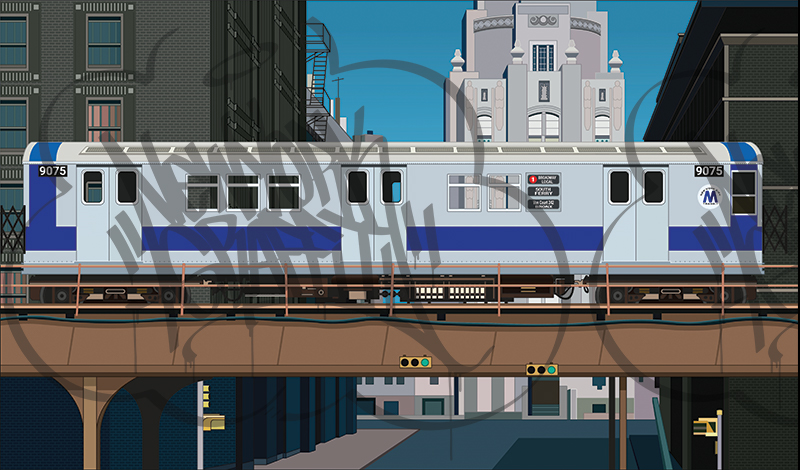 DONDI-EL-Overpass-Scene-Silver-R33