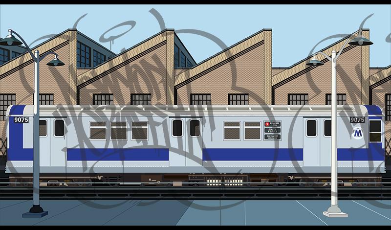 Train-Yard-Platform-Scene-Silver-R33